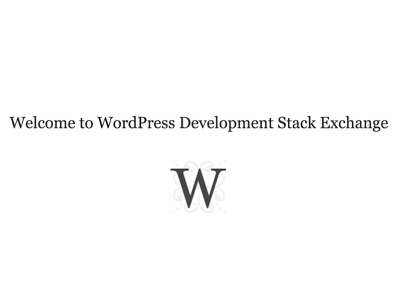 WordPress-Free-Stack-Exchange-Suport