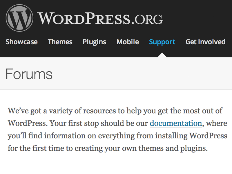 WordPress-Support-Free