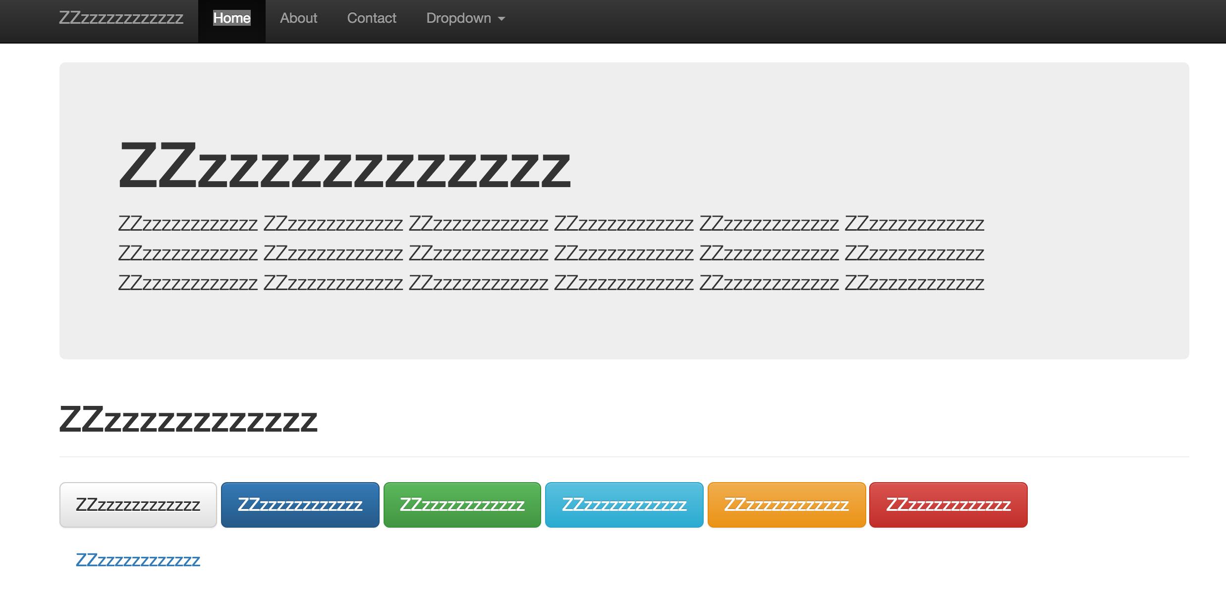 Boring-web-design