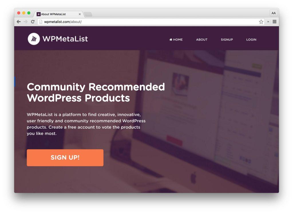 WPMetaList.com