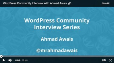 Getting Featured on WordPress.tv's Homepage