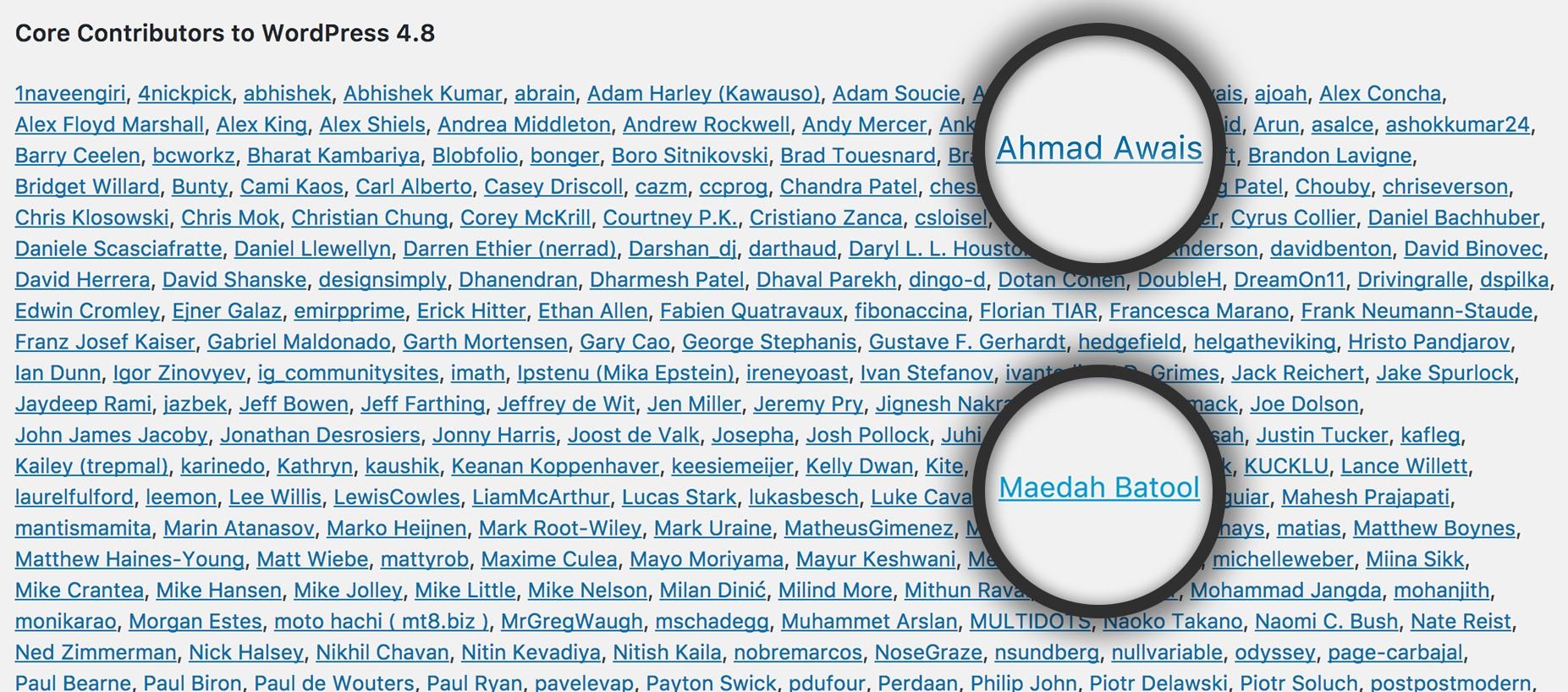 WPCore_Contributor-Ahmad-Awais-Maedah-Batool