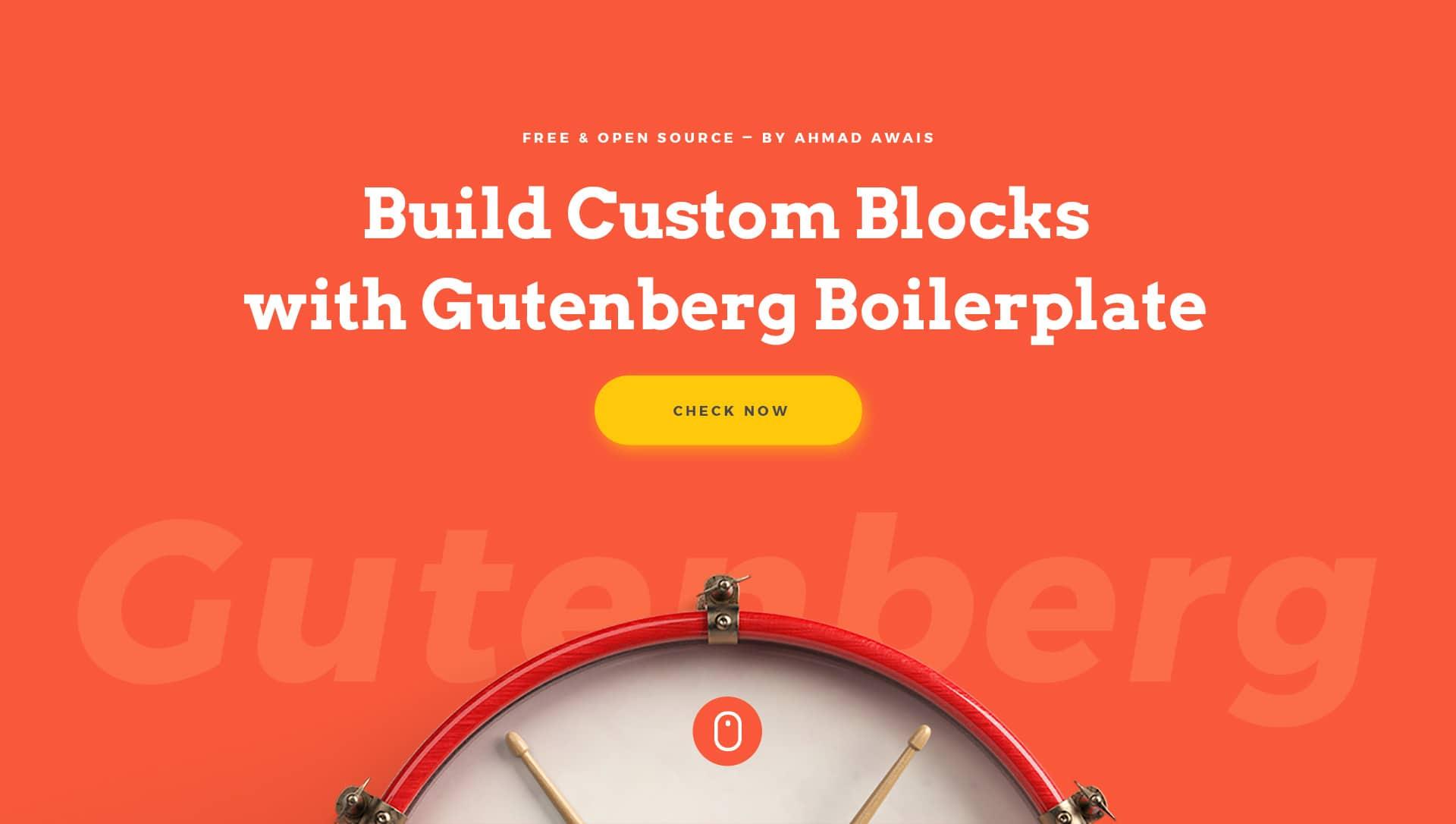 Gutenberg-boilerplate