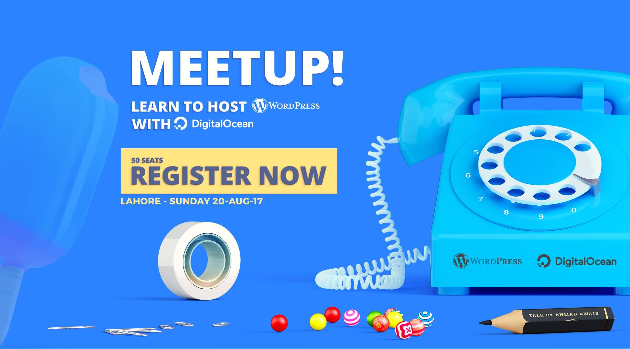 DigitalOcean + WordPress Meetup