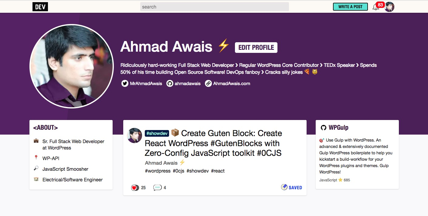 Ahmad-Awais-Dev-to-2017