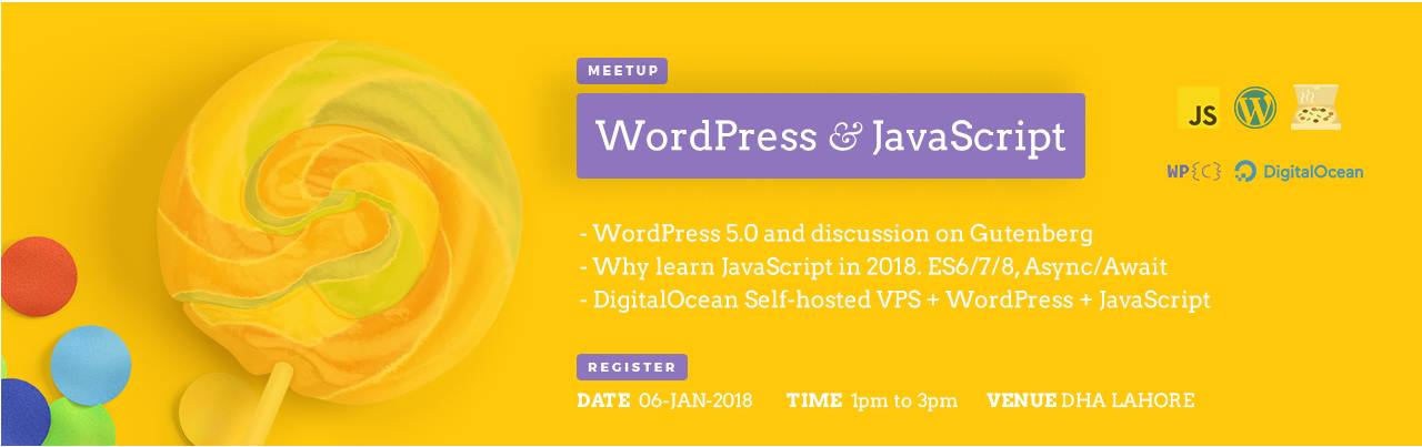 WPCouple's WordPress & JavaScript Meetup Lahore 2018