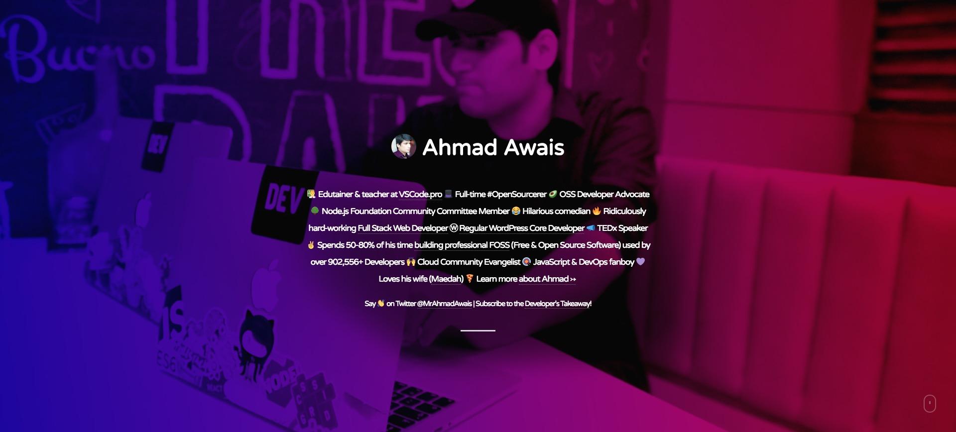 Ahmadawais.com