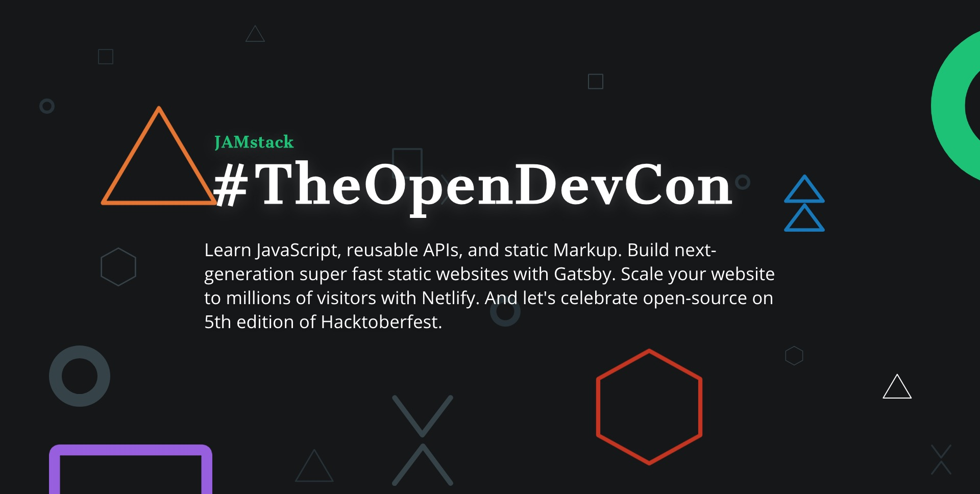 The Open Source Dev Conference 2018