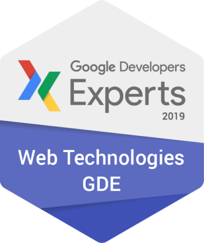 I am now a Google Developers Expert in Web Technologies!