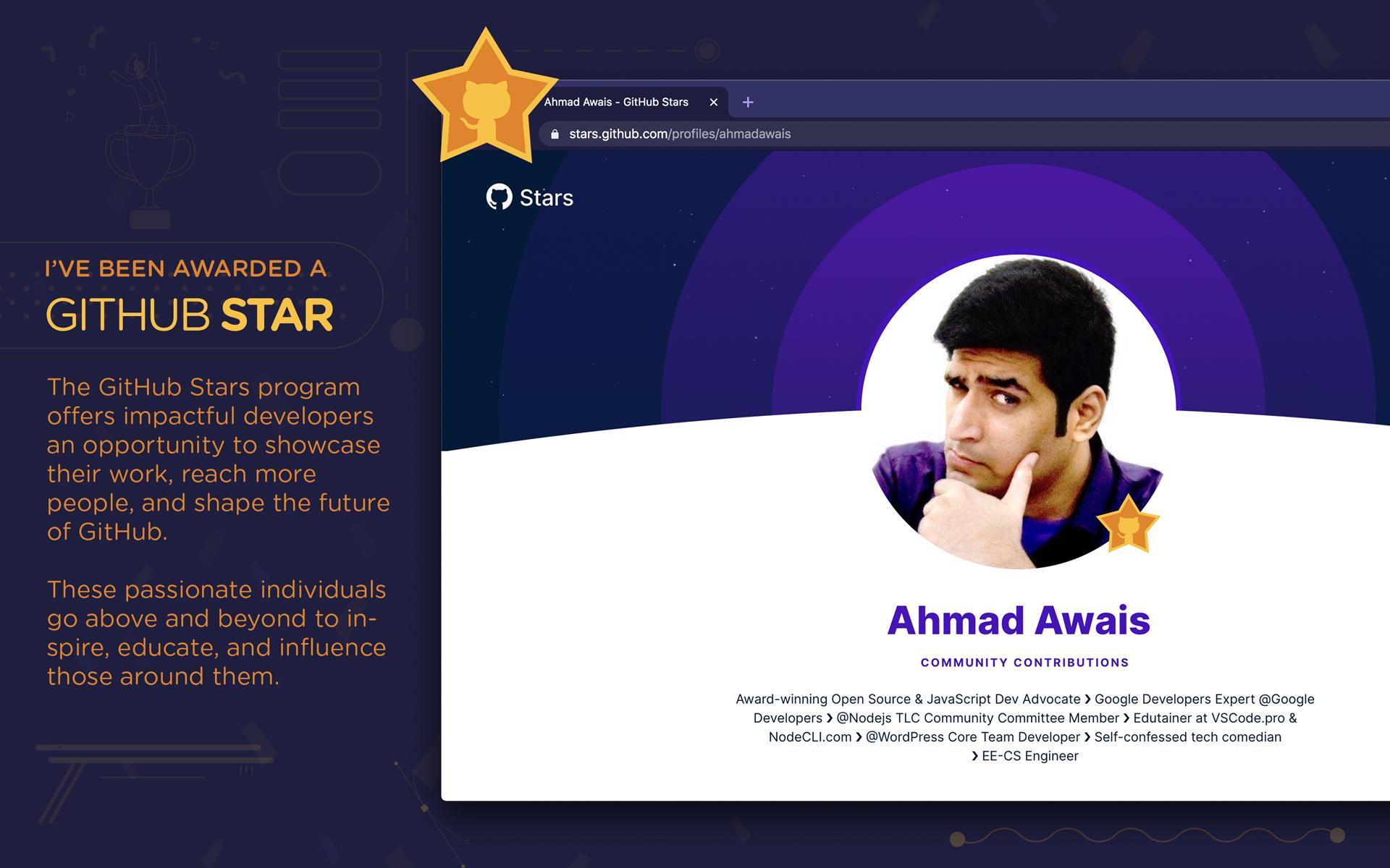 Github Stars Award