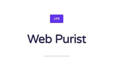 Web Purist