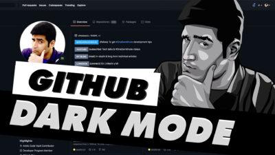 GitHub Dark Mode