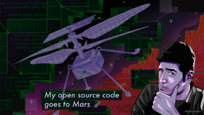 My Open Source Code Contribution to NASA's Ingenuity Helicopter Goes to Mars 🚀
