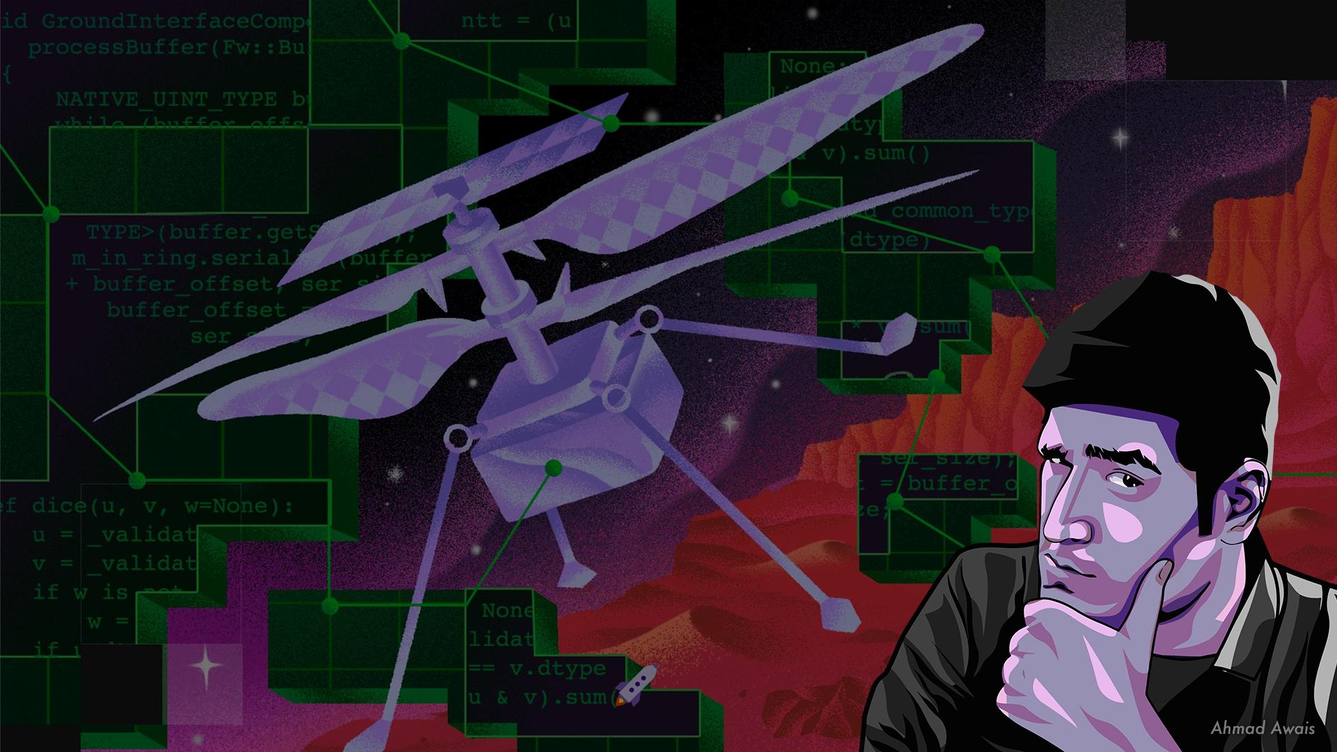 Mars Open Source Ahmad Awais Img